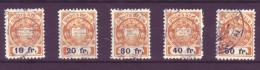 833 - VAUD - Fiskalmarken - Steuermarken