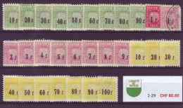 835 - VAUD - Fiskalmarken - Steuermarken
