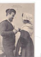 25542 Bretagne  Folklore -de Vannes à Auray -leurs Yeux Sont Poeme -N°88 GID Nantes -amoureux Couple - France