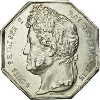 France, Jeton, Notary, SUP, Argent, Lerouge:160 - Francia