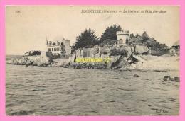 CPA LOCQUIREC  Le Fortin Et La Villa Ker Anno - Locquirec