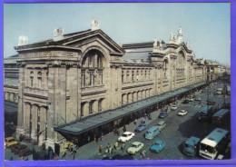 Carte Postale 75. Paris  La Gare Du Nord   S.N.C.F.  Trés Beau Plan - Stations, Underground
