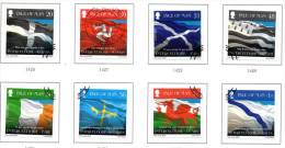Isle Of Man Sc 1260-7 2008 Interceltic Music Festival Stamp Set Used - Isla De Man