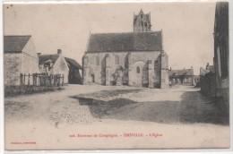 60  Environs De Compiégne - EMEVILLE - L ' Eglise - France