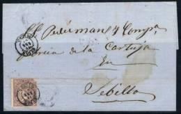 1869.- GIJÓN A SEVILLA - 1868-70 Gobierno Provisional