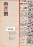 472/9/  Page Publicitaire Advetising - Année 1958 - Chicorée Leroux - Publicités