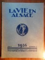 La Vie En Alsace  (Aout 1936)  N° 8 - Newspapers