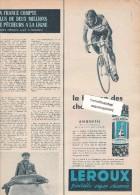 473/12/  Page Publicitaire Advetising - Année 1959 - Chicorée LEROUX - Publicités