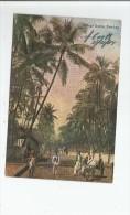 VILLAGE SCENE BOMBAY 1907 - Inde