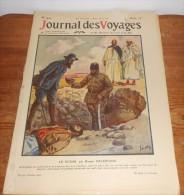 Journal Des Voyages. Le Rhinodon Typicus. Caucase. Géorgie. Les Peaux Rouges. 2 Août 1914. - Journaux - Quotidiens
