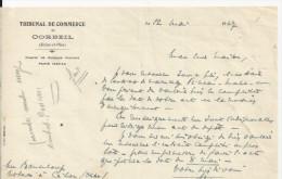 CORBEIL TRIBUNAL DE COMMERCE DEMI LETTRE ENTETE  ANNEE 1947 - Non Classés