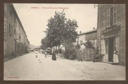 ODENAS. - Porte Et Route De Villefranche - POSTES Et TELEGRAPHES - POSTE - France