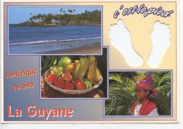 Guyane : Amérique Du Sud LA GUYANE C'est Le Pied (silouette) Multivues Créoles (neuve) - Autres