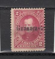 Costa Rica 1885 Mi Nr 2 Met Opdruk Guanacast'; - Costa Rica