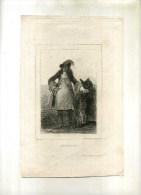 - BEAUFORT  . GRAVURE SUR ACIER DU XIXe S. DE 1833 - Art