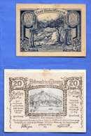 2 Gutscheine (20 Heller Land Niederösterreich + 20 Heller Dürnstein A.d.Donau) - Autriche