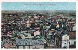 PRZEMYSL (Polen) - Totalansicht, Gel.1917, Abgelöste Marke - Polen