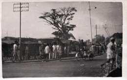 Unbekannte Stadt In Asien (CHINA?) - Strassenszene, Fotokarte 1930-1950 - China