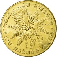 Monnaie, Rwanda, 20 Francs, 1977, FDC, Laiton, KM:E6 - Rwanda