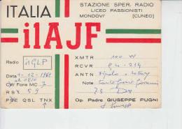 ITALIA 1961 - Mondovi (Cuneo) - Bandiere - Radio Amatoriale