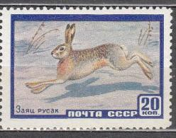 Russia USSR 1960 Mi # 2323 Fauna Hare MNH * * - Ongebruikt