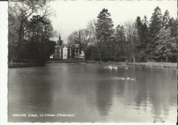 Verlaine (Liége) -- Le Château D' Oudoumont.    ( 2 Scans) - Verlaine
