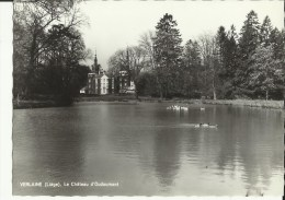 Verlaine (Liége) -- Le Château D' Oudoumont.    ( 2 Scans)