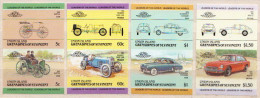Union Island / St Vincent MNH Cars Imperforated Set - Autos