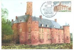 Esquelbecq 17 06 1978 Le Chateau - Cartes-Maximum