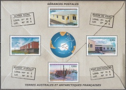 TAAF 2004 Yvert Bloc Feuillet 11 Neuf ** Cote (2015) 14.40 Euro Gérances Postales - Blocks & Sheetlets