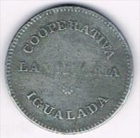 Moneda Cooperativa La Victoria, IGUALADA (Barcelona) 5 Pts, - Profesionales/De Sociedad