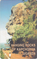 UGANDA(chip) - The Hanging Rocks Of Kapchorwa(20 Units), Used