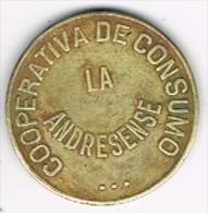 Moneda Cooperativa De Consumo Andresense. SAN ANDRES (Barcelona) 1928, 10 Cts - Professionnels/De Société