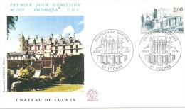 Chateau De Loches  14 06 1984 - 1980-1989
