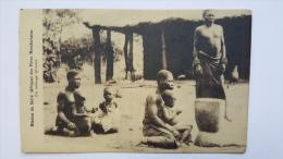 Mission Du SHIRE Des PERES MONTFORTAINS Un Menage Africain Afrique Ethiopie CPA Animee Postcard - Ethiopia