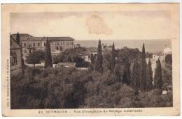 BEYROUTH - Vue D'ensemble Du Collège Américain - Liban