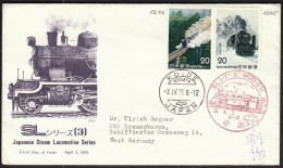 Japan Koide 1975 / Train, Railway, Locomotive, Eisenbahn - Treni