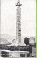 --   WHITBY CAEDMON CROSS --   CARTE PHOTO --  1912 - Whitby