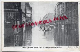 75 - PARIS - INONDATION CRUE JANVIER 1910- AVENUE LEDRU ROLLIN - Distretto: 12