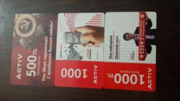 Kazakhstan-activ Prepia Card-
