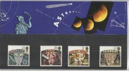 GREAT BRITAIN GRAN BRETAGNA 1990 ASTRONOMY ASTRONOMIA PRESENTATION PACK UNUSED NUOVO MNH - Presentation Packs