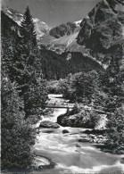 Maderanertal - Kurhaus SAC, Holzbrücke            Ca. 1950 - UR Uri
