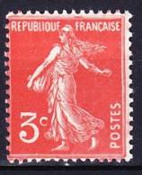 FRANCE 1932-34 YT N° 278A ** VARIETE DEFAUT ESSUYAGE - 1906-38 Sower - Cameo