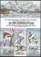 TAAF 2002 Yvert Bloc Feuillet 7 Neuf ** Cote (2015) 13.00 Euro Les Jeux Olympiques Des TAAF - Blocks & Kleinbögen