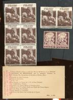 Vignettes Pour Le Soldat En 1939  St Martin Et La Couverture Du Carnet (vide) - 2. Weltkrieg