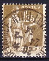 """FRANCE 1932-33 YT N° 287 Obl. """"LAURENS"""" EN PARTIE EFFACE - 1932-39 Peace"""