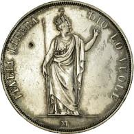 Lombardie-Vénétie, Italie, 5 Lire