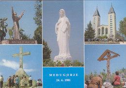 Bosnia - Medjugorje - Gospa Madonna Vierge 1996 Stamp Herceg Bosna - Bosnien-Herzegowina