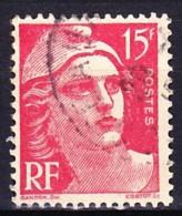 FRANCE 1948 YT N° 813a Obl. TYPE II - 1945-54 Marianne De Gandon