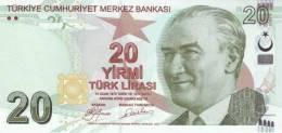 TURKEY P. 224 20 L  2009 UNC - Turchia